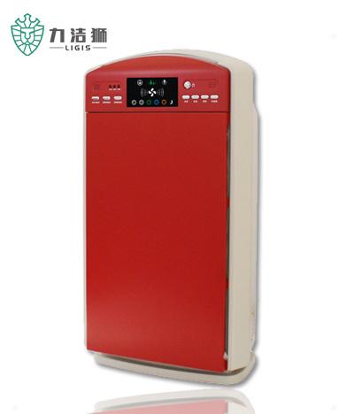 力洁狮空气净化器LJS-302玫瑰红