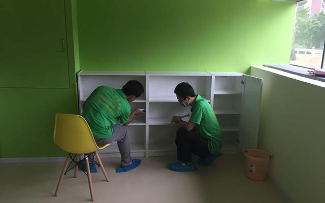 力洁狮空气净化:一兜堂国际早教中心除甲醛案例